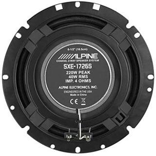 Alpine Parlante SXE-1726S 2 Vias 61/2 220W 4Ohm