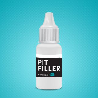 GLASWELD Resina Pit Filler 15 ml.