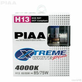PIAA Ampolletas XTREME WHITE H13 Luces 4000k